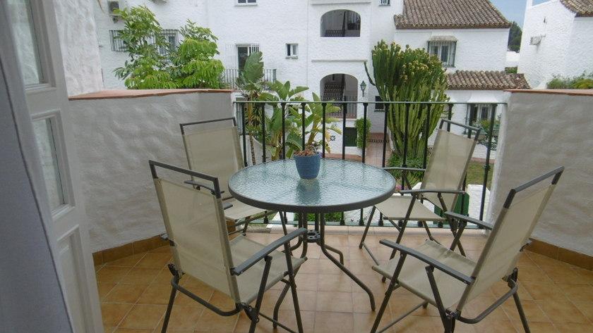 Nice terrasse and view Las Palmeras