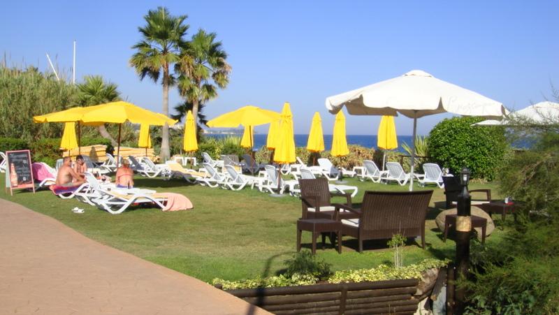 Beach club  El Saladillo Beach
