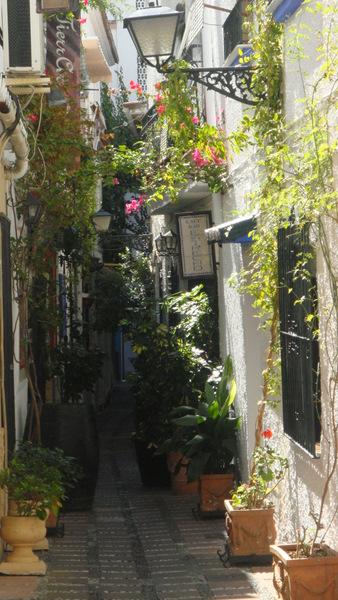 Marbella calle del casco antiguo