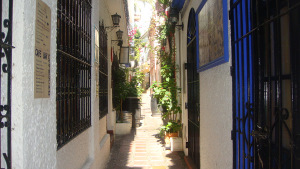 Marbella Old city center